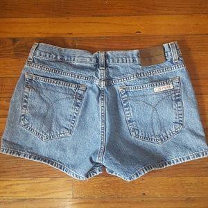 CALVIN KLEIN Denim Shorts - Juniors